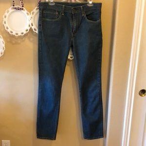 Women's Levi's 511 Medium-Dark Wash Jeans